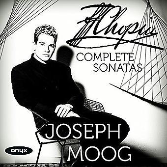 Chopin / Joseph Moog - Chopin / Joseph Moog: Complete Piano Sonatas [CD] USA import