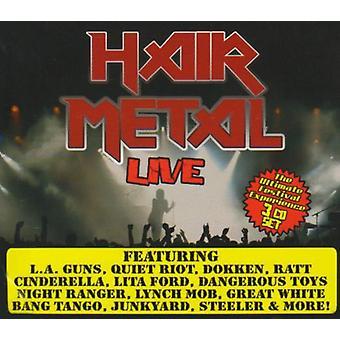 Hiukset Metal Live - hiukset Metal elää [CD] Yhdysvallat tuoda