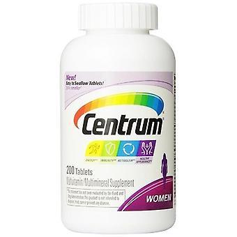 Suplemento Multivitamínico/Multimineral de Centrum feminina