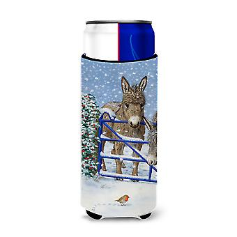Donkeys and Robin Ultra Beverage Insulators for slim cans