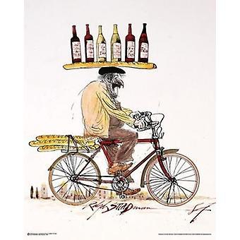 Ralph Steadman - vin affisch affisch Skriv