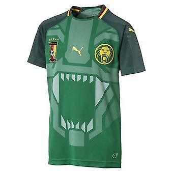 2018-2019 Kameroen huis Puma voetbalshirt (kinderen)
