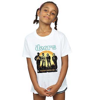 Dvere dievčatá čakajú na slnku T-shirt