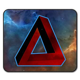 Impossible Triangle  Non-Slip Mouse Mat Pad 24cm x 20cm | Wellcoda