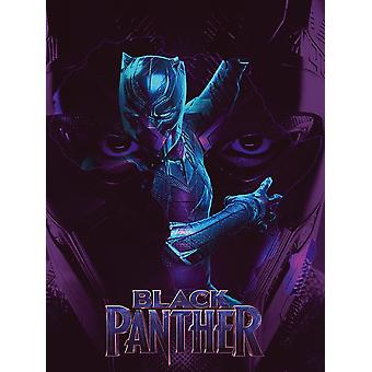 Black Panther Poster Movie Art Print (18x24)