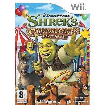 Shreks Carnival Craze (Wii) - New