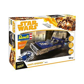 Revell 06769 Star Wars Solo Hans Speeder Bouwen en Spelen Plastic Model Kit