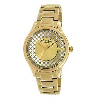 Kenneth Cole Nowy Jork kobiety nadgarstka zegarek analogowy, kwarcowy ze stali nierdzewnej 10026010