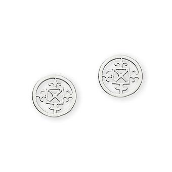 Sterling Silver perinteiset Scottish Design Islands Orkney Design pari korva korut-E52