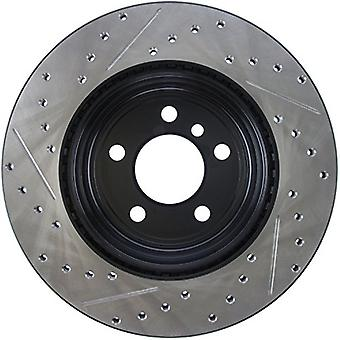 StopTech 127.34141L Sport Drilled/Slotted Brake Rotor (Rear Left), 1 Pack