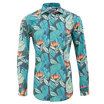 Tresanti Jungle Print Mens Shirt