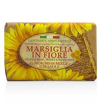 Nesti Dante Marsiglia Fiore kasviperäiset saippua - Honey & auringonkukka - 125g/4.3 oz