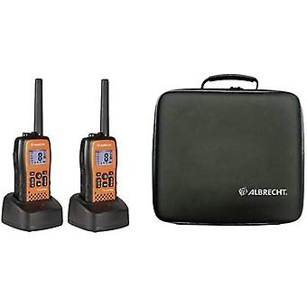 Albrecht Tectalk Float 29661 PMR handheld transceiver 2-piece set