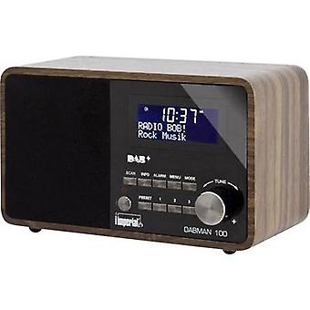 Imperial Dabman 100 Desk radio DAB+, FM AUX Wood