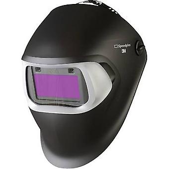 SpeedGlas 100V Black H751120 Welders hard hat Black EN 379 , EN 166 , EN 175 , EN 169