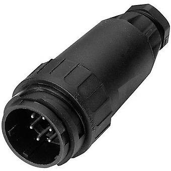AMPHENOL C016 10I014 003 2 conector cablu Straight C16-3 curent nominal (detalii): 4 x 6 A, 11 x 12 A