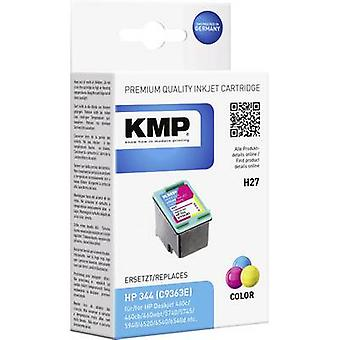 KMP Ink replaced HP 344 Compatible Cyan, Magenta, Yellow H27 1025,4344