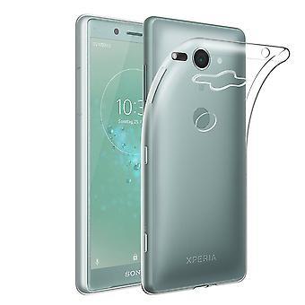 Sony Xperia XZ2 compatto in silicone trasparente Custodia cover