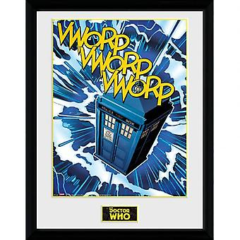 Doctor Who Picture Tardis 16 x 12