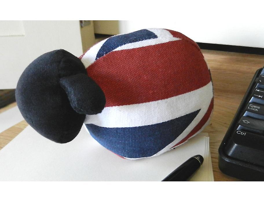 Union Jack moutons Presse-papiers par Monica Richards