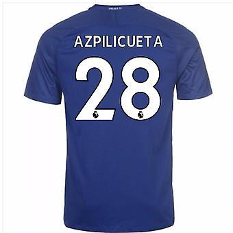 2017-18 Chelsea koti paita (Azpilicueta 28) - lapset
