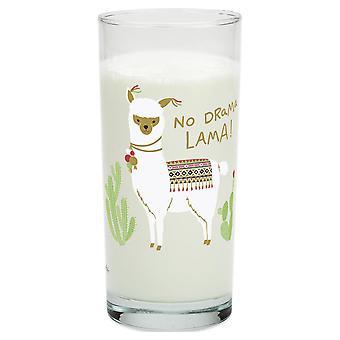 Lama tuimelaar No. drama Lama transparant, gedrukte glas.