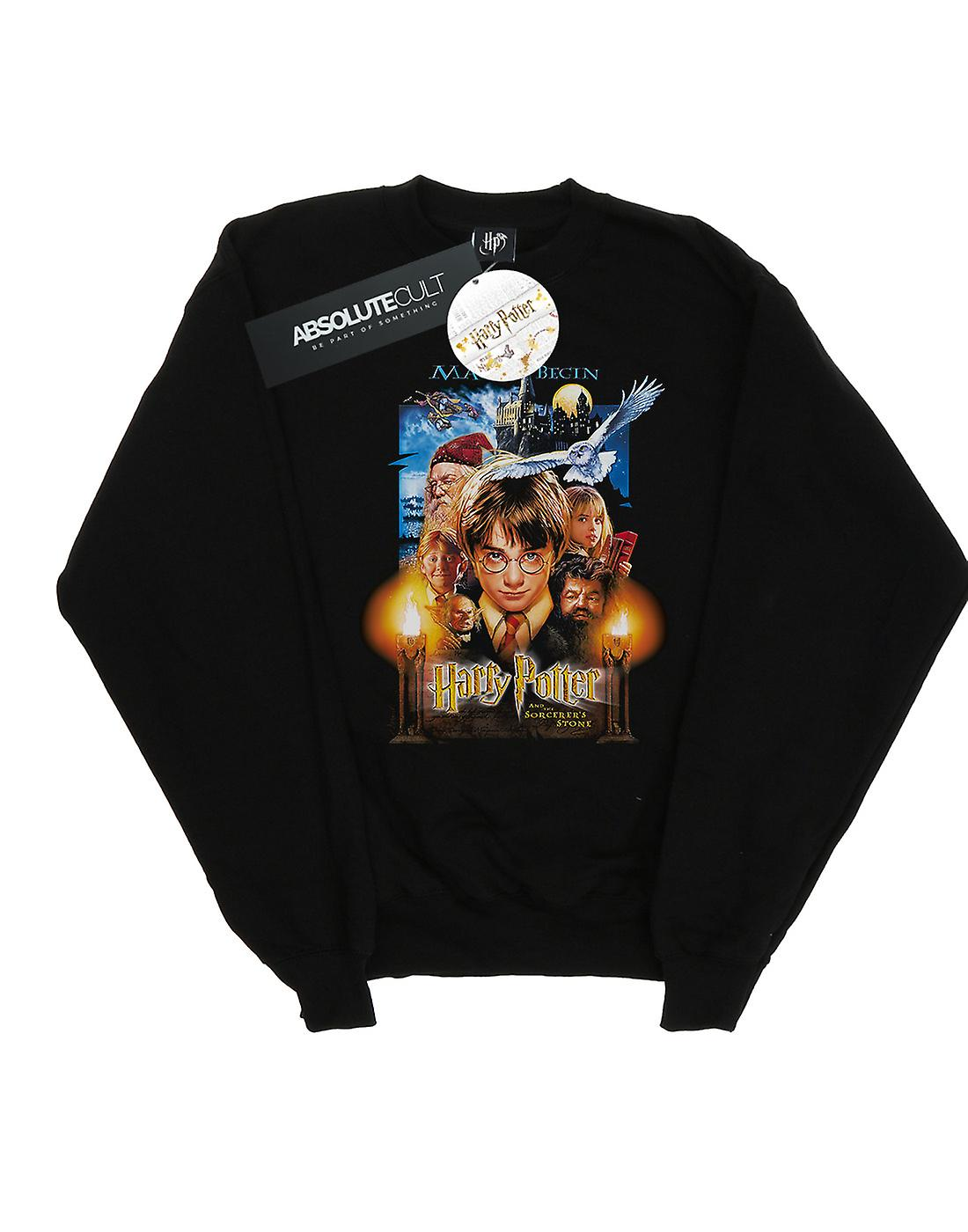 Harry Potter Boys The Sorcerer's Stone Poster Sweatshirt