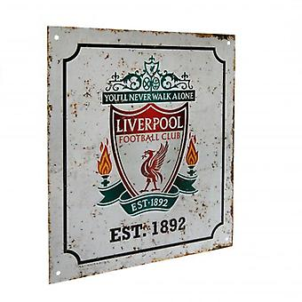 Liverpool Retro Logo Sign