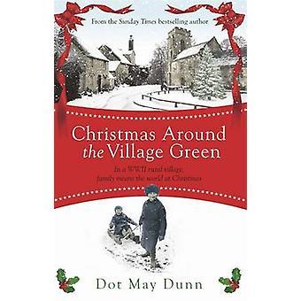 Kerstmis rond het dorp groen - In een WWII 1940s landelijk dorp - F