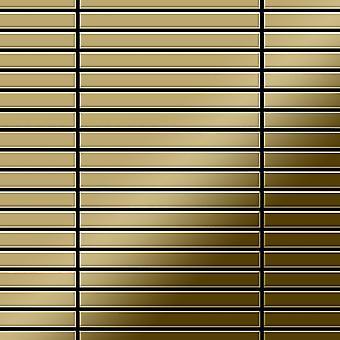 Metallmosaik Titan ALLOY Linear-Ti-GM