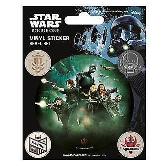 Star Wars Rogue One Rebel Stickers