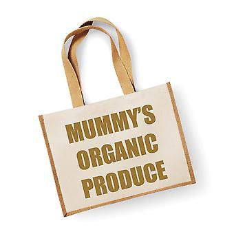Velký přírodní zlatý jutsáček maminka ' s bioprodukty