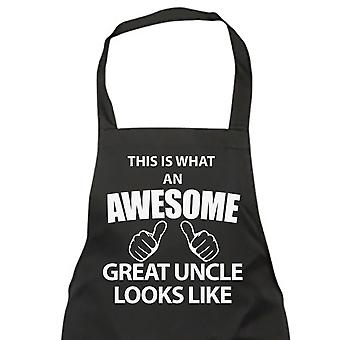 This Is What An Awesome Great Uncle Looks Like Black Apron