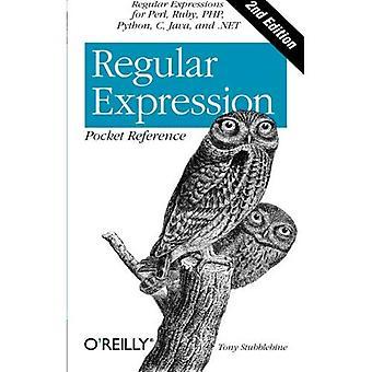 Säännöllinen lauseke taskussa viite: Säännölliset lausekkeet Perl-, Ruby-, PHP-, Python-, C-, Java- ja .NET (taskussa viite (O'Reilly))