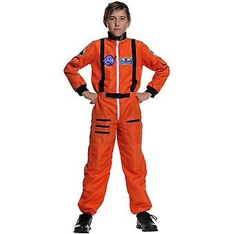 Astronaut Orange Child Costume