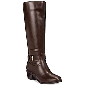 Karen Scott Womens Fayth Almond Toe Knee High Fashion Boots