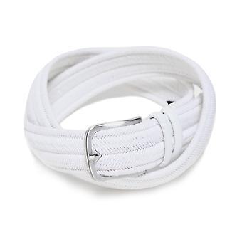 Gavazzeni Stretch Woven Leather Belt