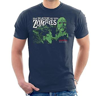 Hammer de pest van de zombies poster Men's T-shirt