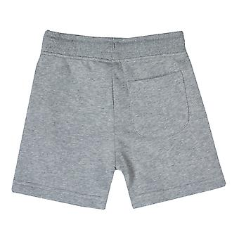 Kleinkind Franklin And Marshall Fleece Logo Jog Shorts In Grey Heather-Ribbed