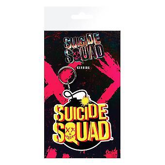DC Comics Suicide Squad Bomb Flexible Keyring