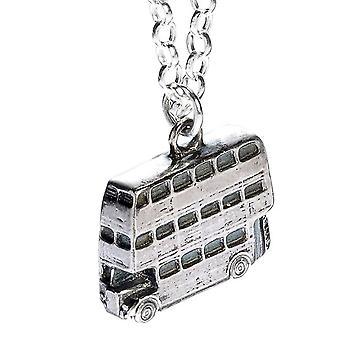 Harry Potter Sterling Silber Ritter Bus Charm Halskette