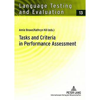 Tasks and Criteria in Performance Assessment - Proceedings of the 28th