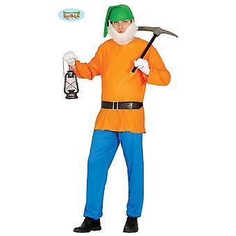 Dvärg trädgård GNOME GNOME kostym sju dvärgarna mens en storlek