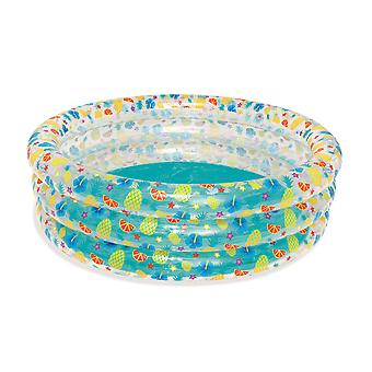 Bestway Tropical Play 3-Ring Paddling Pool 67 x 21 Inch Ages 6 Years+