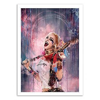 Art-Poster - Harley Quinn - Wisesnail 50 x 70 cm