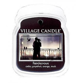 Village Candle Wax smelte pakker til brug med melt tart & oliebrændere Rendezvous