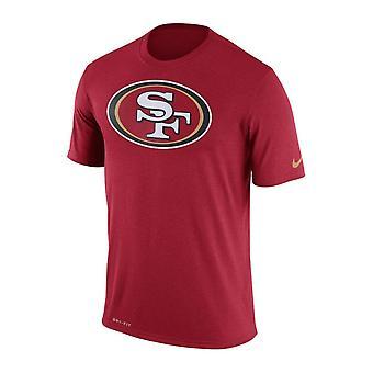 Nike NFL San Francisco 49ers Legend logo Essential 3 Dri-Fit T-paita