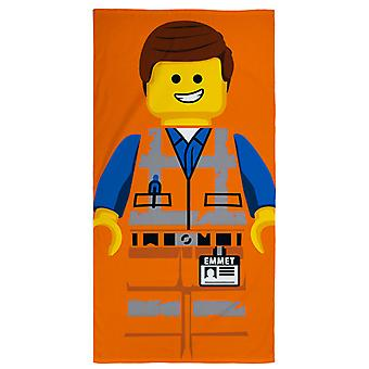 Lego Movie 2 Emmet strandlaken