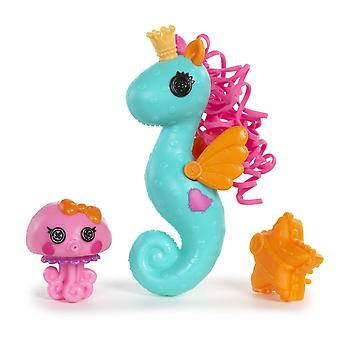 "Mini Lalaoopsies - hippocampe Sea Squirt 10cm (4"")"