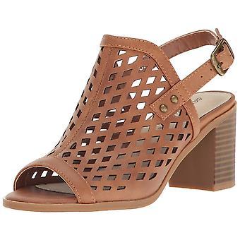 Easy Street Womens erin open teen casual enkel riem sandalen